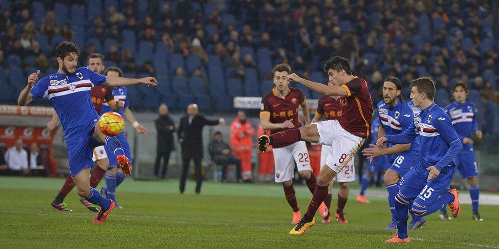Photo of Hasil Pertandingan AS Roma vs Sampdoria Skor 2-1