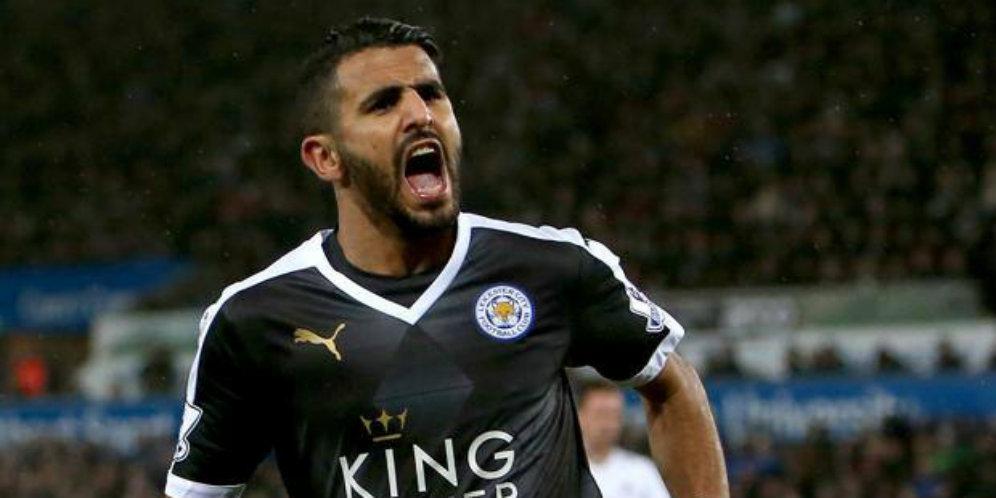 Real Madrid Ingin Beli Riyad Mahrez dari Leicester