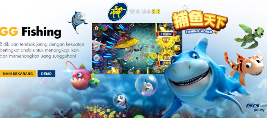 Tembak ikan online global gaming fishing